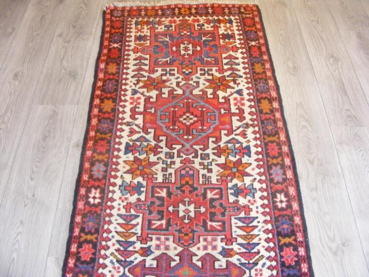 Perzisch Tapijt Marktplaats : Perzisch tapijt vintage gharajeh maat 0 73 x 2 67 knot carpet
